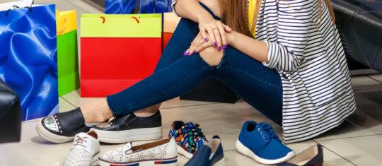 chaussures moderne confort des pieds