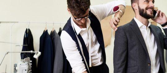 costume sur mesure pour homme